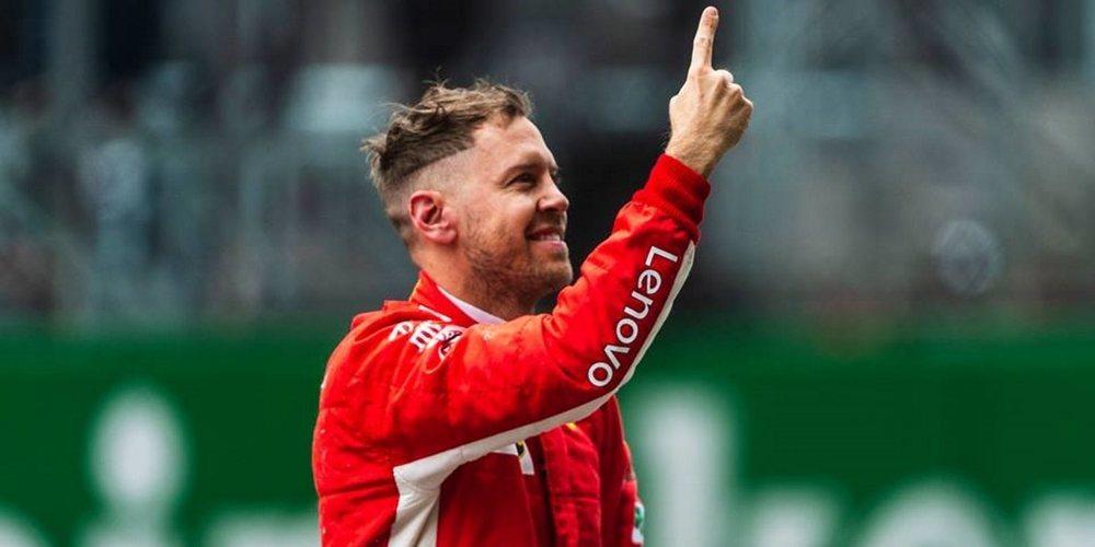"""Sebastian Vettel, nueva pole: """"No esperábamos ser tan fuertes en comparación con nuestros rivales"""""""