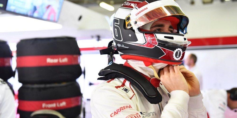 """Charles Leclerc: """"Primera clasificación del año de la que estoy satisfecho con mi propio rendimiento"""""""