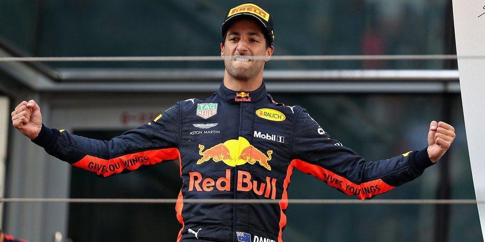 """Daniel Ricciardo: """"Esta victoria es una gran recompensa para los ingenieros y mecánicos"""""""