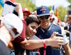 """Lance Stroll: """"Estoy muy contento con la carrera, pero debería haber retenido a Alonso"""""""