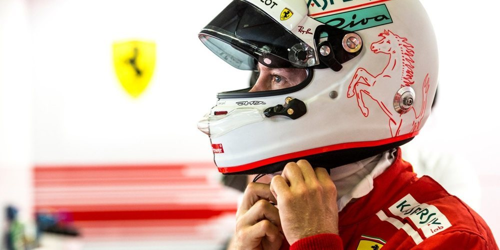 """Sebastian Vettel: """"Si confías en tu coche, no hay razón para intentar superar el límite hoy"""""""