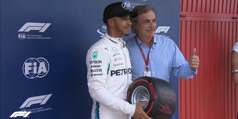 Lewis Hamilton da un golpe en la mesa y se lleva la pole del GP España 2018