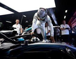 """Lewis Hamilton: """"No tenía ni idea de cómo iba a ser la carrera; las temperaturas subían y bajaban"""""""