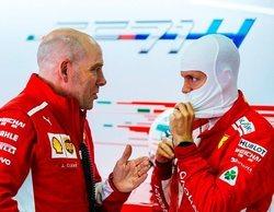 """Sebastian Vettel: """"El coche me patinaba en algunas zonas, pero sabía que no tocaría los muros"""""""