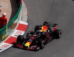 Verstappen pierde el control en los Libres 3 del GP de Mónaco 2018