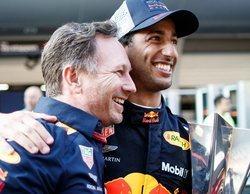 """Christian Horner: """"Verstappen tiene un muy buen profesor en el coche de al lado"""""""