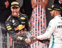 """Lewis Hamilton: """"Ricciardo es, sin ningún tipo de duda, el líder en Red Bull"""""""