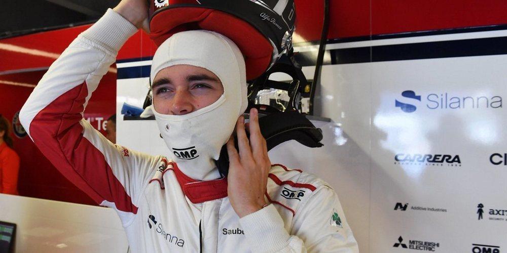 """Charles Leclerc: """"Comenzar P13 es positivo, espero poder obtener un buen resultado en carrera"""""""