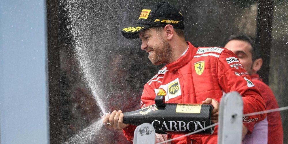 """Vettel: """"Los puntos son siempre importantes, pero esta victoria en Montreal significa mucho"""""""
