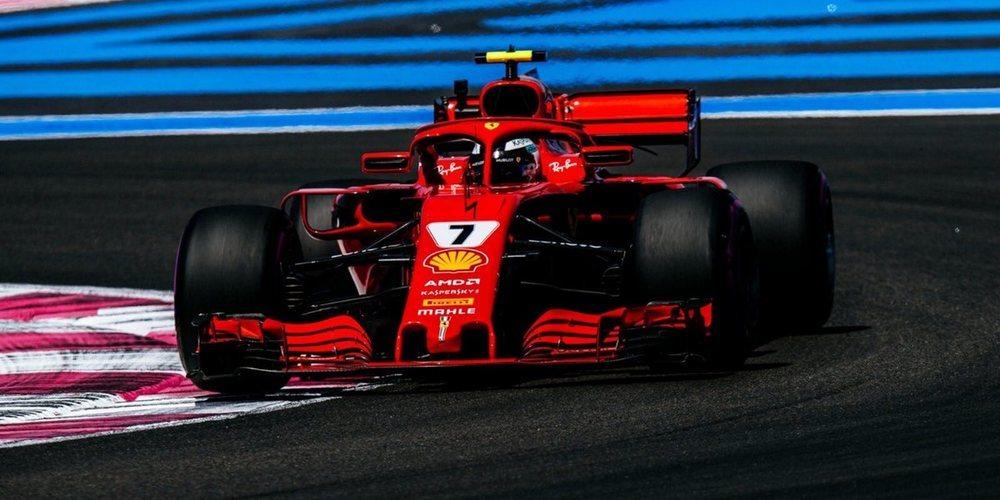 """Kimi Räikkönen disfruta en Francia: """"Fue un buen día, es divertido estar en un lugar nuevo"""""""