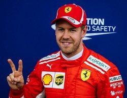"Sebastian Vettel: ""Creo que hoy podemos estar contentos con el tercer lugar"""
