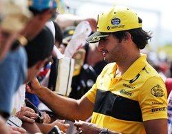 """Carlos Sainz, sobre su futuro dentro de la F1: """"Estoy contento del equipo en el que estoy"""""""