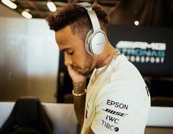 """Lewis Hamilton: """"Ha sido un día alentador, el coche lo he sentido muy bien con las mejoras"""""""