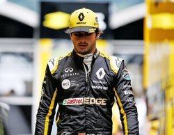 """Sainz: """"El balance del coche ha cambiado con las ruedas blandas y se ha vuelto inconducible"""""""