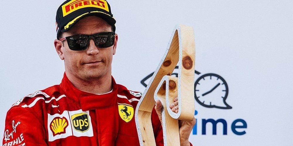 """Kimi Räikkönen: """"Lo dimos todo para ganar, pero no fue suficiente"""""""