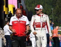 """Charles Leclerc: """"Es genial para el equipo que ambos monoplazas terminen en el top 10"""""""