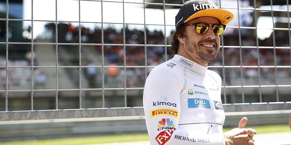 """Alonso rasca puntos en Austria: """"Ha sido una grata sorpresa"""""""