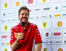 """Sebastian Vettel: """"Ha sido un buen viernes; todo lo que pusimos en el coche parece funcionar"""""""