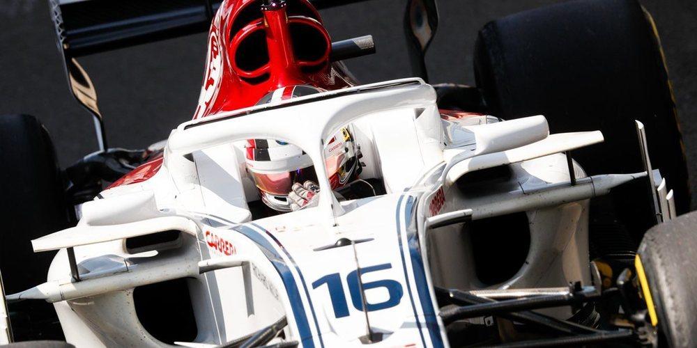 """Charles Leclerc en el top 10: """"Tuve buenas sensaciones en el coche y progresamos bastante"""""""