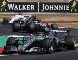 """Lewis Hamilton: """"Fue una carrera difícil, al final no tenía el ritmo para luchar contra los Ferrari"""""""