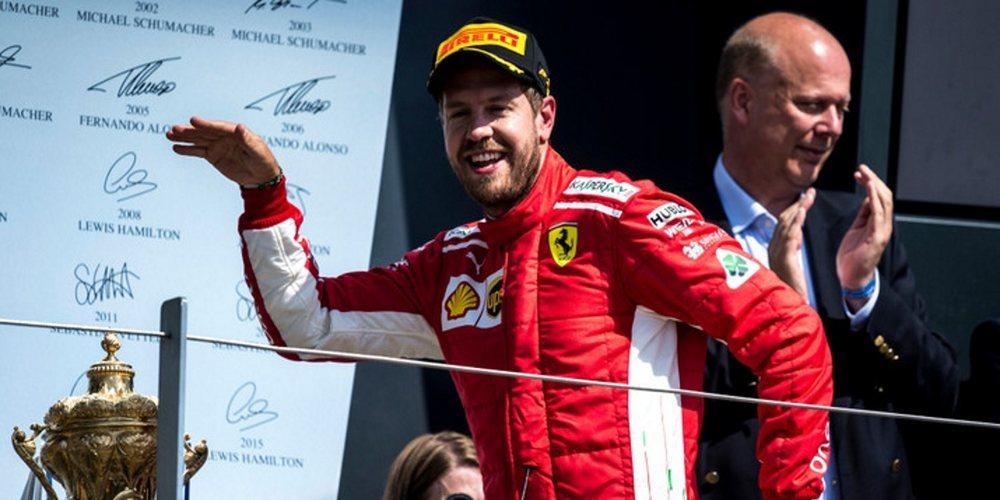 """Sebastian Vettel: """"El coche de seguridad hizo todo más emocionante, pero aún más complicado"""""""
