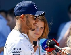 """Lewis Hamilton: """"A día de hoy nos encontramos ante una batalla a tres bandas"""""""