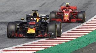 Christian Horner, descontento con el motor Renault frente al de Ferrari en Gran Bretaña