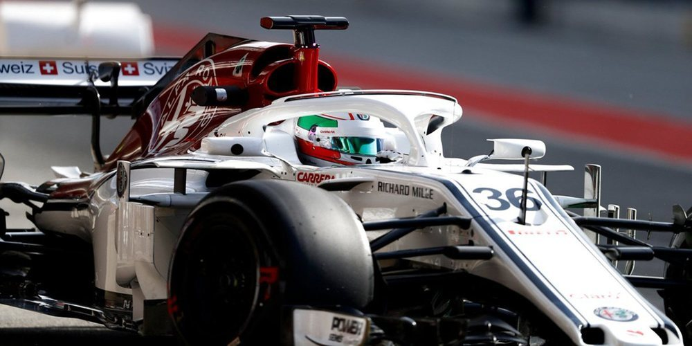 Antonio Giovinazzi disputará los Libres 1 de Alemania con Sauber