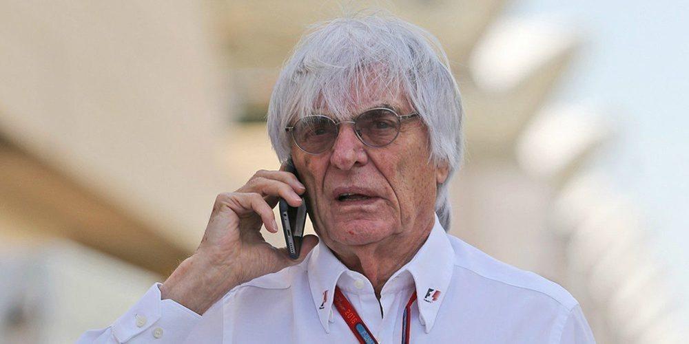 """Bernie Ecclestone: """"La actual normativa está hecha para que los pilotos no compitan"""""""