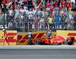 """Sebastian Vettel: """"Fue error mío, estoy decepcionado por ello"""""""