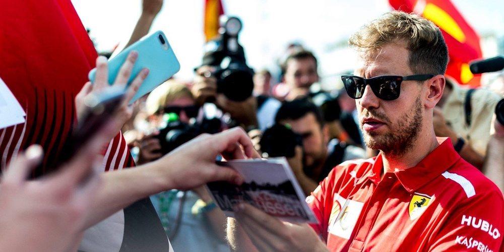 """Sebastian Vettel: """"La Calificación y la salida de este Gran Premio serán muy importantes"""""""
