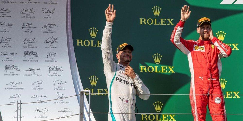 """Lewis Hamilton, de la ventaja con Ferrari: """"Había soñado que estuviéramos en esta posición"""""""