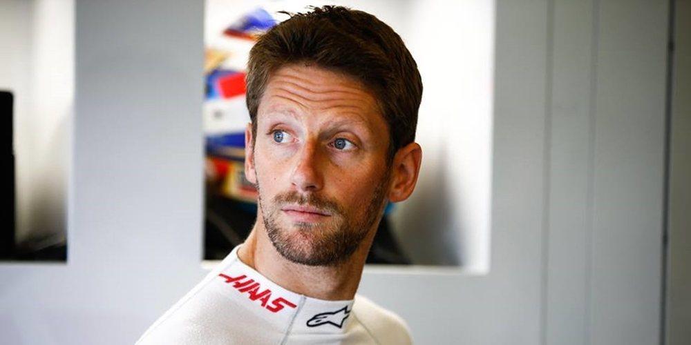"""Grosjean confía en su permanencia en Haas: """"Sé que soy capaz de lograr puntos de forma regular"""""""