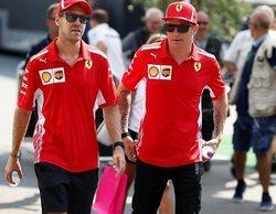 Sebastian Vettel marca el mejor tiempo en una sesión dominada por Ferrari