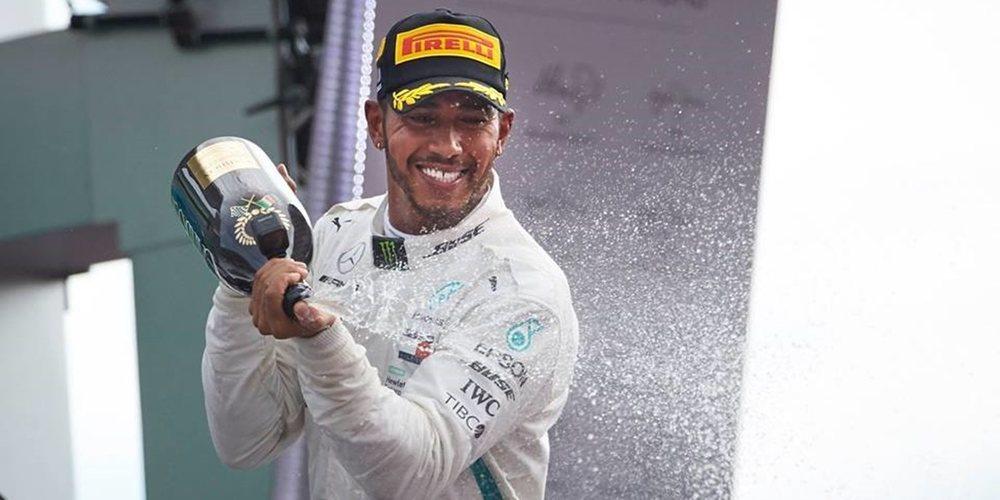 """Lewis Hamilton: """"En las últimas carreras hemos estado uno o dos pasos por detrás de Ferrari"""""""