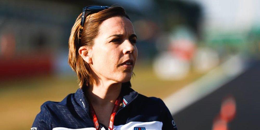 """Claire Williams: """"La situación que atraviesa el equipo nos ha hecho tocar fondo"""""""