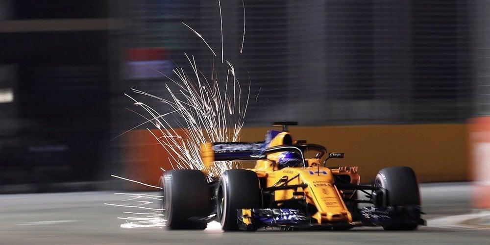 Sergio Pérez saldrá séptimo en Gran Premio de Singapur