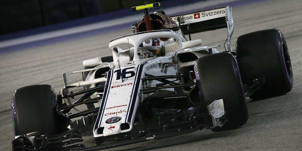 """Charles Leclerc: """"La carrera ha estado cerca de ser perfecta"""""""