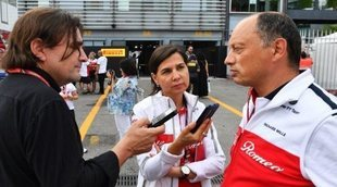 """Frédéric Vasseur, sobre Kimi: """"Necesitamos tener un líder fuerte en el lado del piloto"""""""