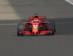 """Sebastian Vettel: """"Lo intentamos todo y estoy feliz de haber conseguido un podio"""""""