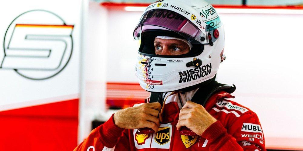 """Sebastian Vettel: """"Si hubiera llovido cinco minutos antes, la historia habría sido diferente"""""""