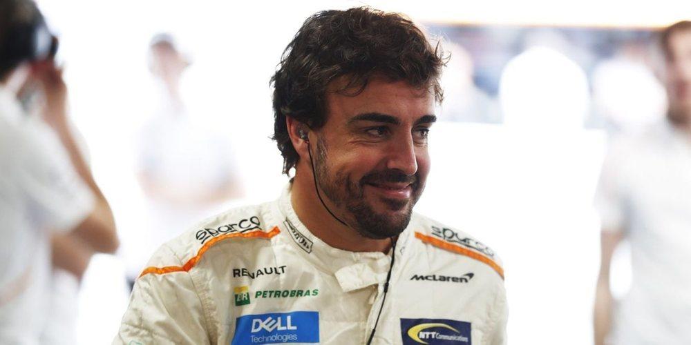 """Fernando Alonso: """"Nuestro ritmo es el que es, así que mañana será una carrera complicada"""""""