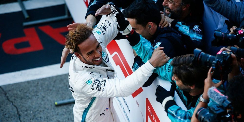 Lewis Hamilton se alza con la victoria y la ventaja con Vettel es casi insalvable en el GP Japón 2018