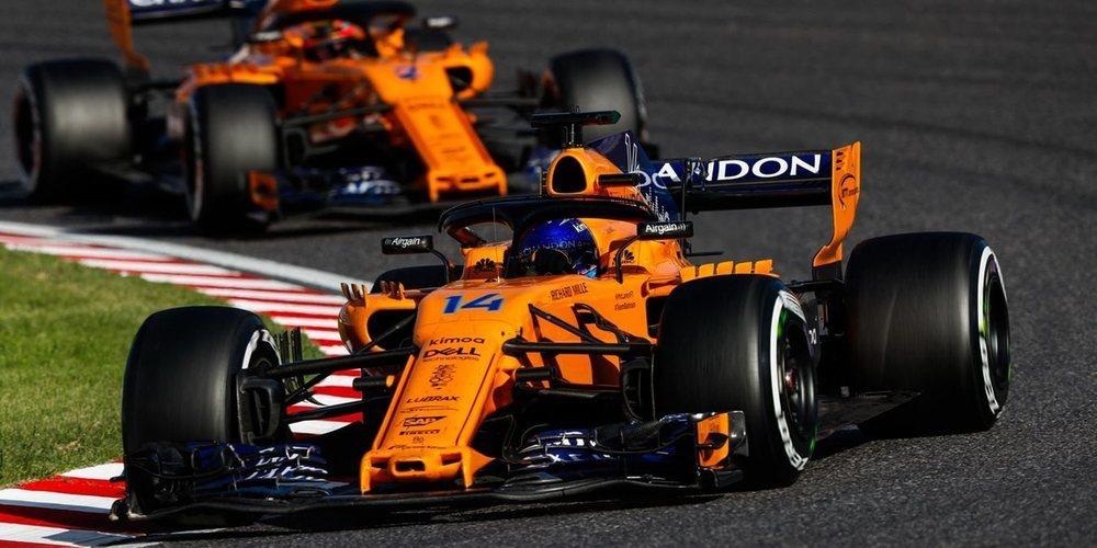 """Fernando Alonso: """"La sanción no me perjudicó demasiado, ya que estábamos fuera de los puntos"""""""