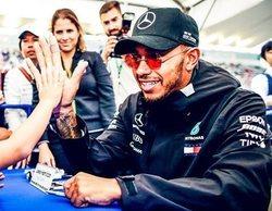 """Lewis Hamilton: """"Es el mejor fin de semana que he tenido nunca en Suzuka"""""""