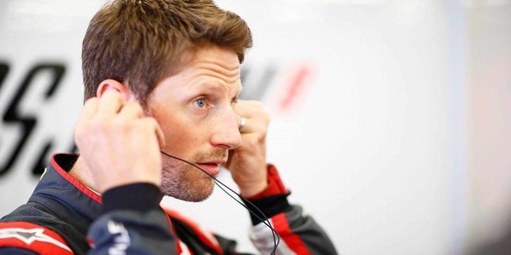 """Grosjean: """"Tuvimos algunos problemas técnicos en el coche que no nos facilitaron la vida"""""""