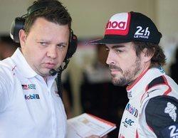 """Fernando Alonso, 2º en las 6 Horas de Fuji: """"Hemos perdido la carrera por mala suerte"""""""