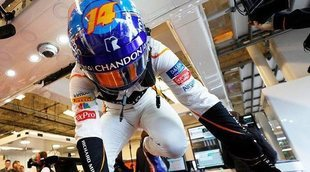 """Fernando Alonso: """"Fue un día extraño debido a las condiciones de pista muy mojada"""""""