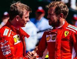 """Sebastian Vettel: """"No éramos lo suficientemente rápidos sobre mojado"""""""