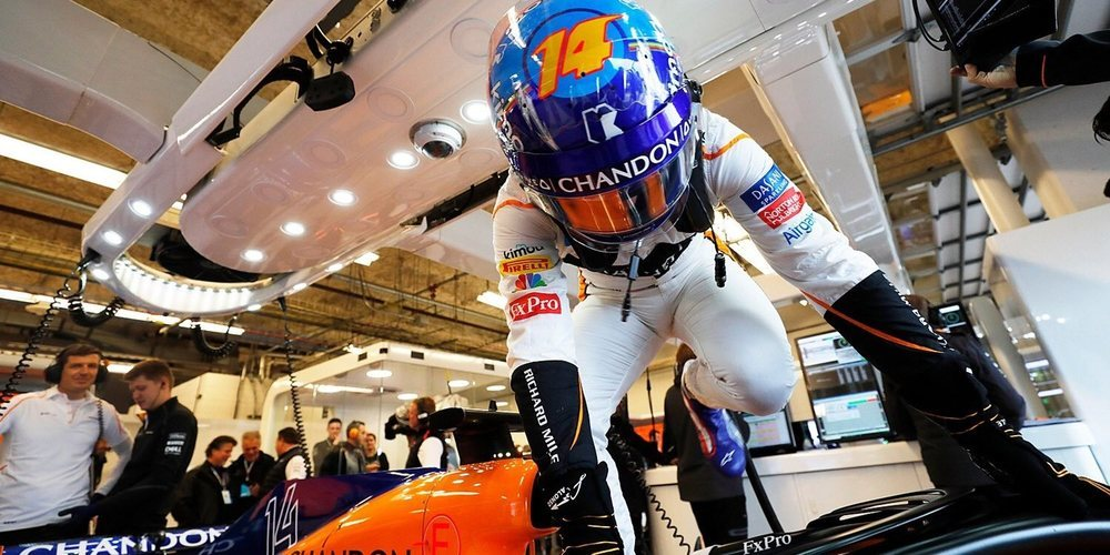 "Fernando Alonso: ""Confío en que podamos luchar por los puntos"""